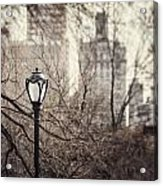 In The Shadow Of The Upper East Side  Acrylic Print