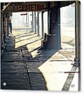 In The Shadows Of Mexicali Acrylic Print