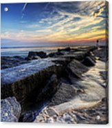 Indian River Inlet Sunrise Acrylic Print