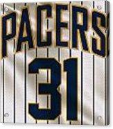 Indiana Pacers Uniform Acrylic Print