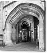 Indiana University Memorial Hall Acrylic Print