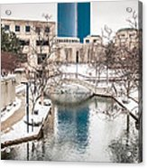 Indianapolis Canal Acrylic Print