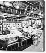 inside lonsdale quay market shopping mall north Vancouver BC Canada Acrylic Print