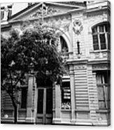 instituto superior de comercio eduardo frei montalva Santiago Chile Acrylic Print