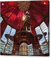 Interior Of Fresnel Lens In Umpqua Lighthouse Acrylic Print