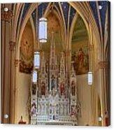 Interior Of St. Mary's Church Acrylic Print