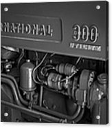 International 300 Utility Harvester Acrylic Print