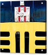 International Grille Emblem Acrylic Print