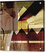 Interstate 10- Exit 259a- 29th St / Silverlake Rd Underpass- Rectangle Remix Acrylic Print