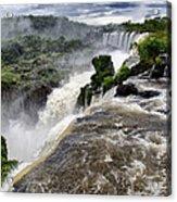 Iquassu Falls - South America Acrylic Print