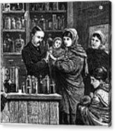 Ireland: Vaccination, 1880 Acrylic Print