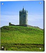 Irish Castle On Hill Acrylic Print