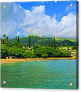 Island Of Maui Acrylic Print