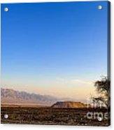 1-israel Negev Desert Landscape  Acrylic Print
