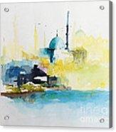 Istanbul Acrylic Print