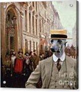 Italian Greyhound Art Canvas Print Acrylic Print