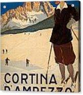 Italian Travel Poster Acrylic Print
