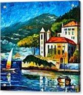 Italy Lake Como Villa Balbianello Acrylic Print