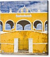 Izamal Convent Acrylic Print