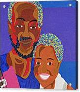 James And Monique Acrylic Print