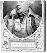 James Wilkinson (1757-1825) Acrylic Print