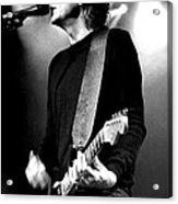 Jamie West-oram - Guitar - The Fixx  Acrylic Print