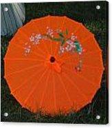 Japanese Umbrella Acrylic Print