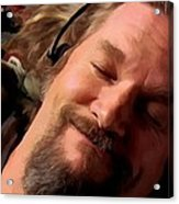 Jeff Bridges As The Dude Acrylic Print