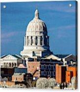 Jefferson City - Missouri - Missouri Acrylic Print