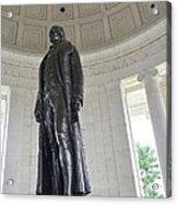 Jefferson Memorial # 6 Acrylic Print