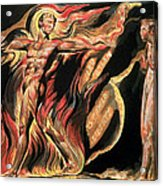 Jerusalem The Emanation Of The Giant Albion Acrylic Print by William Blake