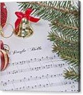 Jingle Bells Acrylic Print