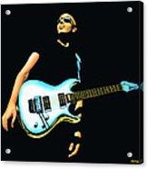 Joe Satriani Painting Acrylic Print