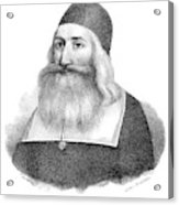 John Clark (1598-1664) Acrylic Print