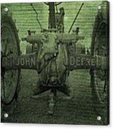 John Deere Acrylic Print