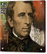 John Tyler Acrylic Print by Corporate Art Task Force