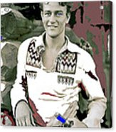 John Wayne In Buckskins The Big Trail 1930-2013 Acrylic Print
