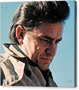 Johnny Cash Music Homage Ballad Of Ira Hayes Old Tucson Arizona 1971 Acrylic Print