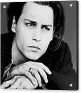 Johnny Depp Acrylic Print