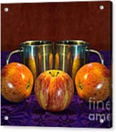 Joined At The Pip Acrylic Print by Donald Davis