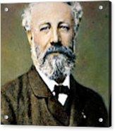 Jules Verne (1828-1905) Acrylic Print