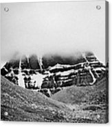 Kailash Mountain North Slope Acrylic Print