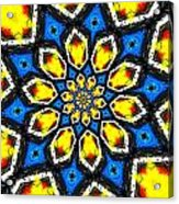 Kaleidoscope Of Primary Colors Acrylic Print