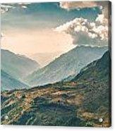 Kalinchok Kathmandu Valley Nepal Acrylic Print