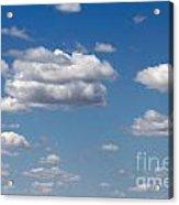 Kansas Sky Acrylic Print