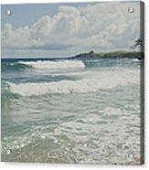 Kapalua Surf Honokahua Maui Hawaii Acrylic Print