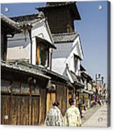 Kawagoe Bell Tower Acrylic Print