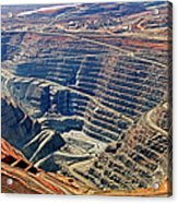 Kcgm. Gold Mine,western Australia Acrylic Print