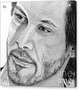 Keanu Reeves Acrylic Print