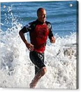 Kelly Slater World Surfing Champion Copy Acrylic Print